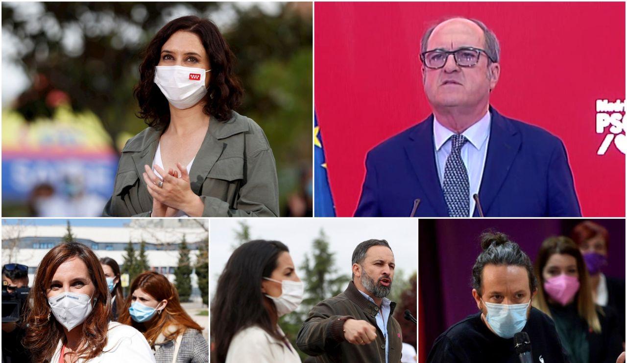 Así están las encuestas y sondeos de las elecciones en Madrid 2021