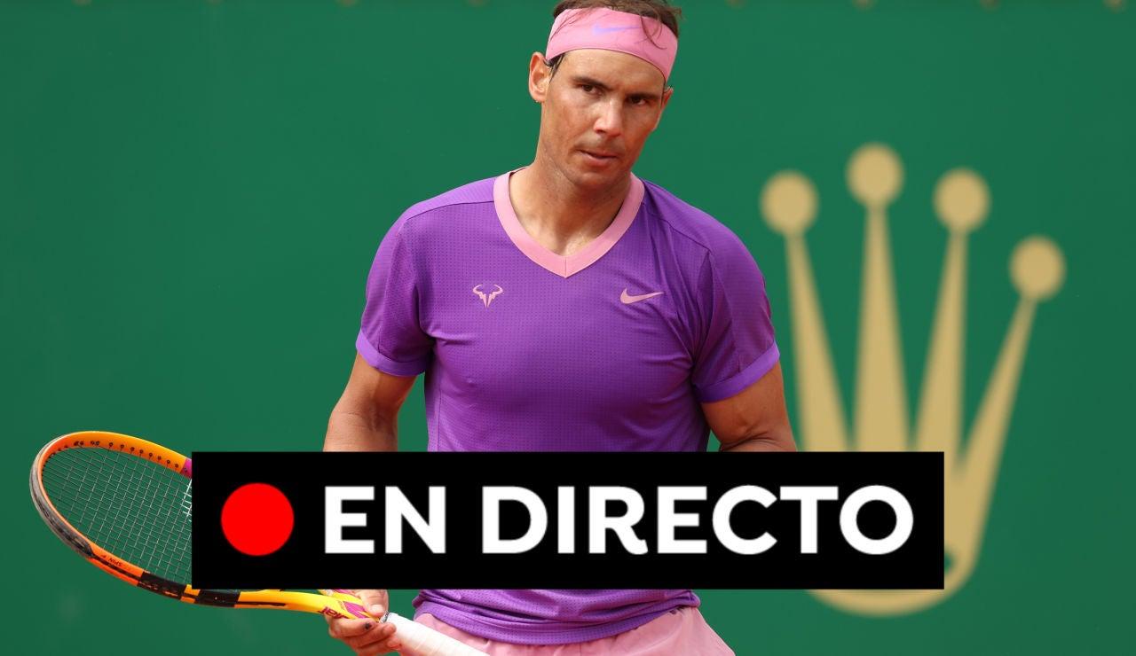 Nadal - Rublev: Resultado del Masters 1.000 de Montecarlo hoy, en directo