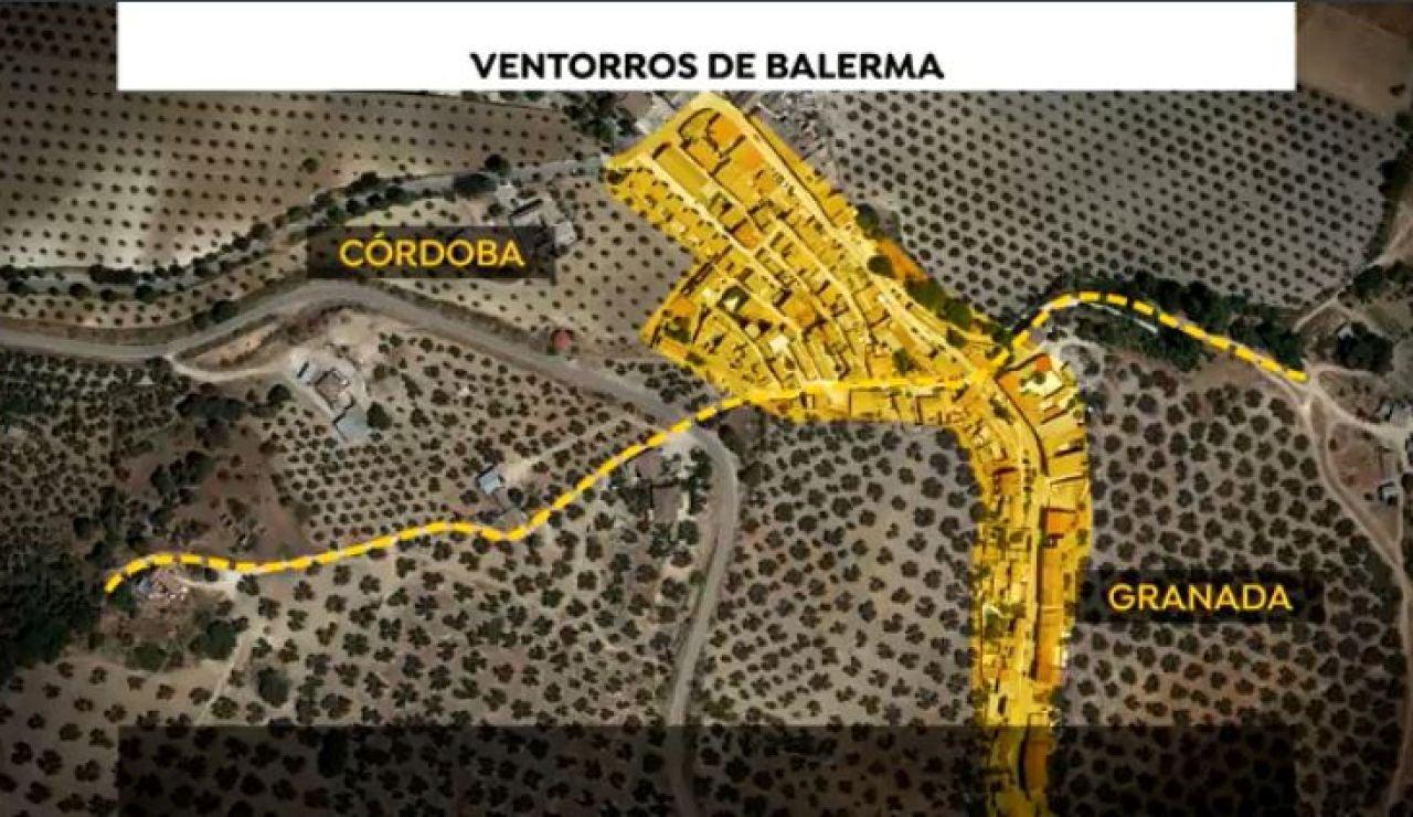 Ventorros de Balerma, pueblo entre Granada y Córdoba