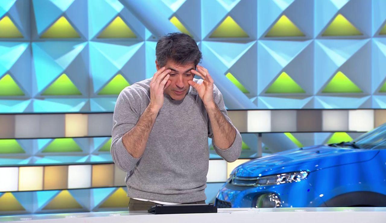 """Jorge Fernández se lamenta de su mala vista: """"¿Y si me pongo gafitas para presentar?"""""""