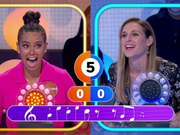 """Locura de Cristina Pedroche en 'Pasapalabra': """"¡Me has puesto 'El Tiburón' que me flipa!"""""""