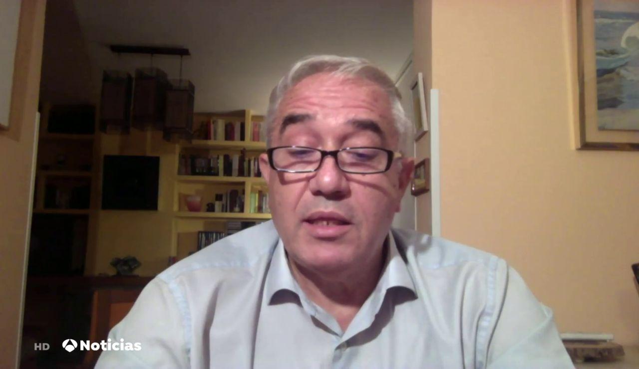 """José Alcamí, virólogo, sobre las nuevas mutaciones: """"Tenemos que contener las infecciones"""""""
