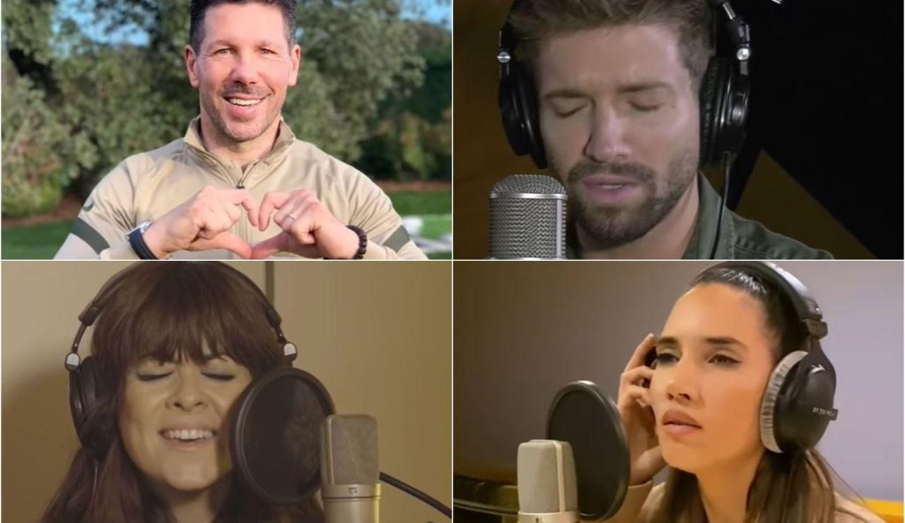 Desde Alejandro Sanz hasta Leo Messi... Más de 40 famosos se juntan en la nueva interpretación del himno de la alegría