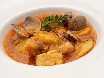 "Receta de suquet de peix, de Karlos Arguiñano: ""Un guiso de pescado importante"""