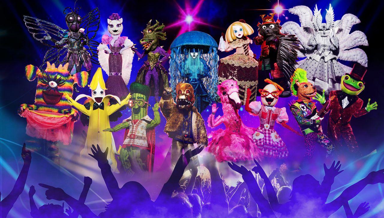 Las 15 máscaras principales de la segunda edición de 'Mask Singer: adivina quién canta'