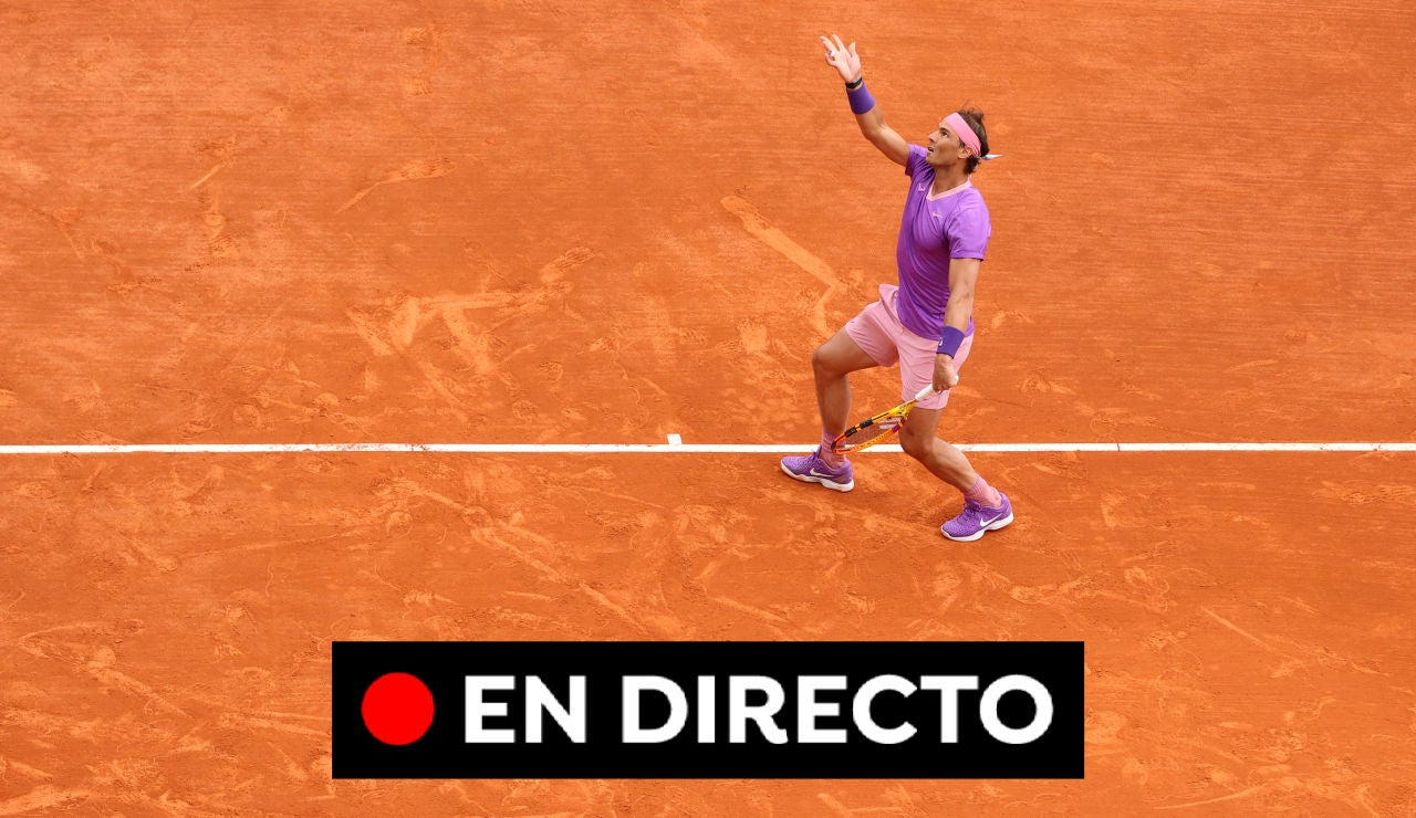 Nadal - Rublev: Partido de hoy del Masters 1.000 de Montecarlo, en directo