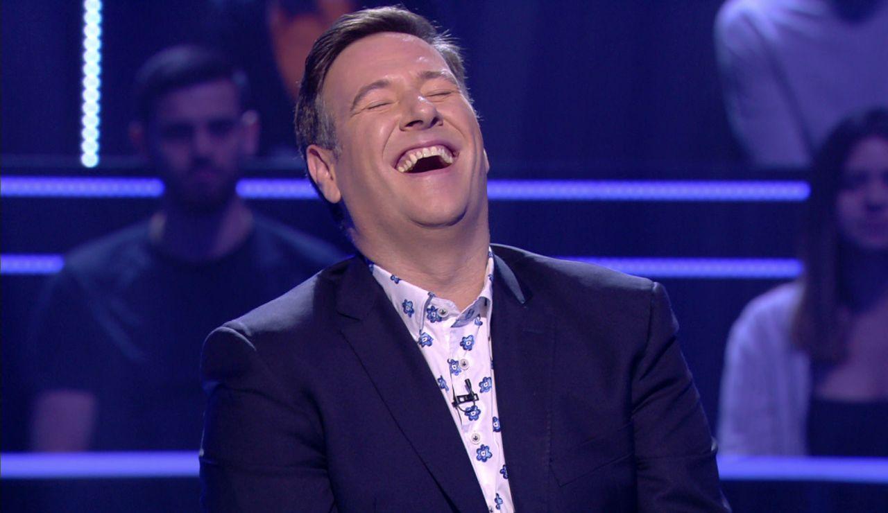 "El chiste de Carlos Latre que solo aplaude Juanra Bonet: ""Esos chistes bonitos me encantan"""