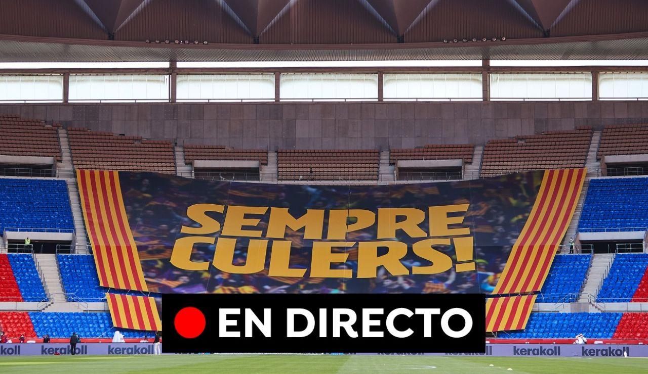 Athletic - Barcelona en directo: Final de la Copa del Rey 2021
