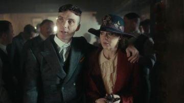 Cillian Murphy y Helen McCrory en 'Peaky Blinders'