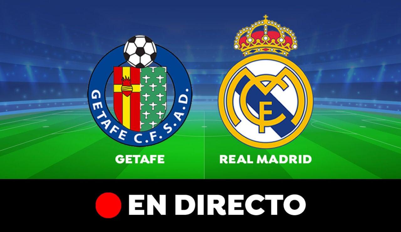 Getafe - Real Madrid: Resultado y goles del partido de hoy, en directo | Liga Santander