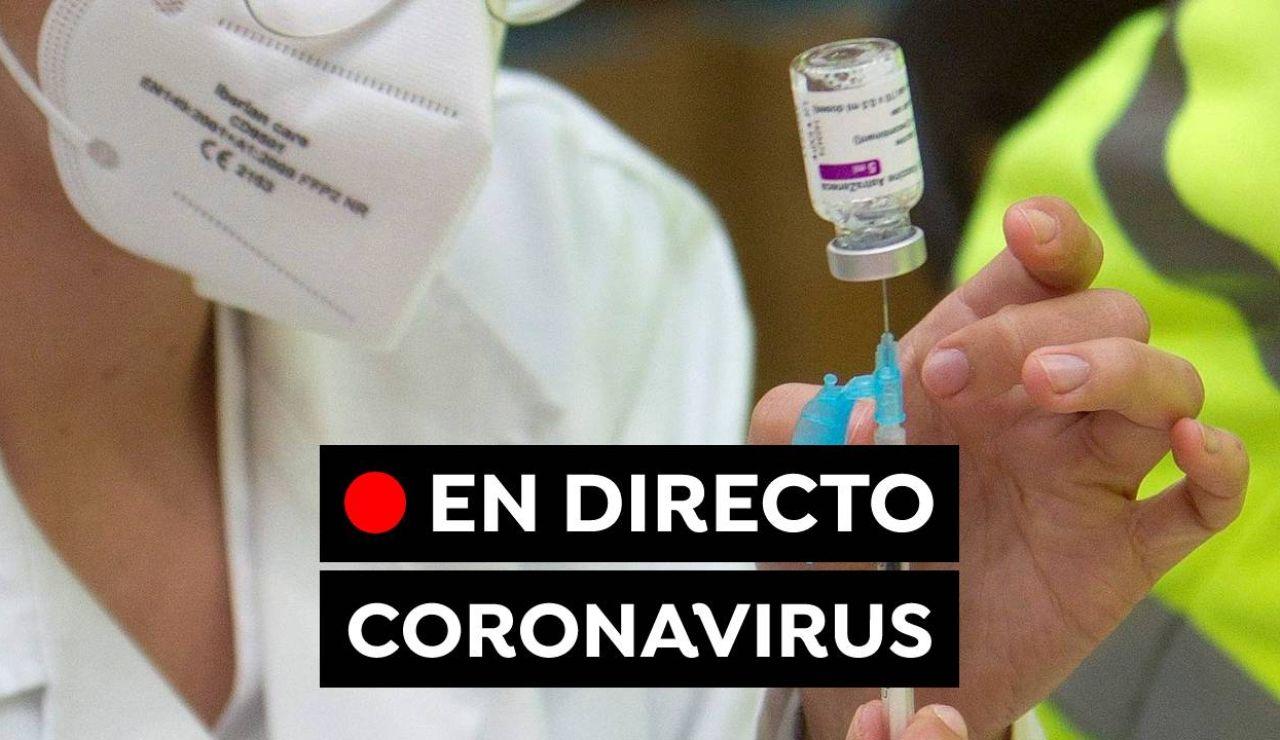 Coronavirus en España hoy: Restricciones y últimas noticias de la vacuna AstraZeneca, en directo