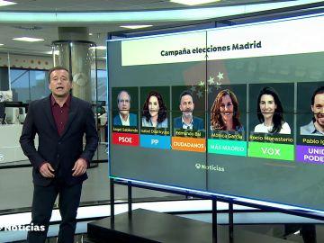 La campaña electoral en Madrid y la Cumbre Iberoamericana, marcan la agenda política de la semana