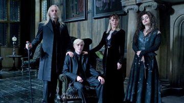 Draco, Lucius y Narcissa Malfoy