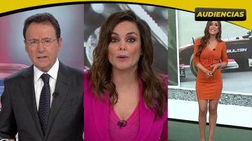 Antena 3 Noticias Fin de Semana 1 (2,2M) y Antena 3 Deportes (2M), lo más visto de Antena 3