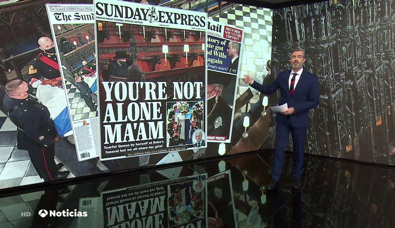 Termina el luto oficial en el Reino Unido tras la muerte del duque de Edimburgo