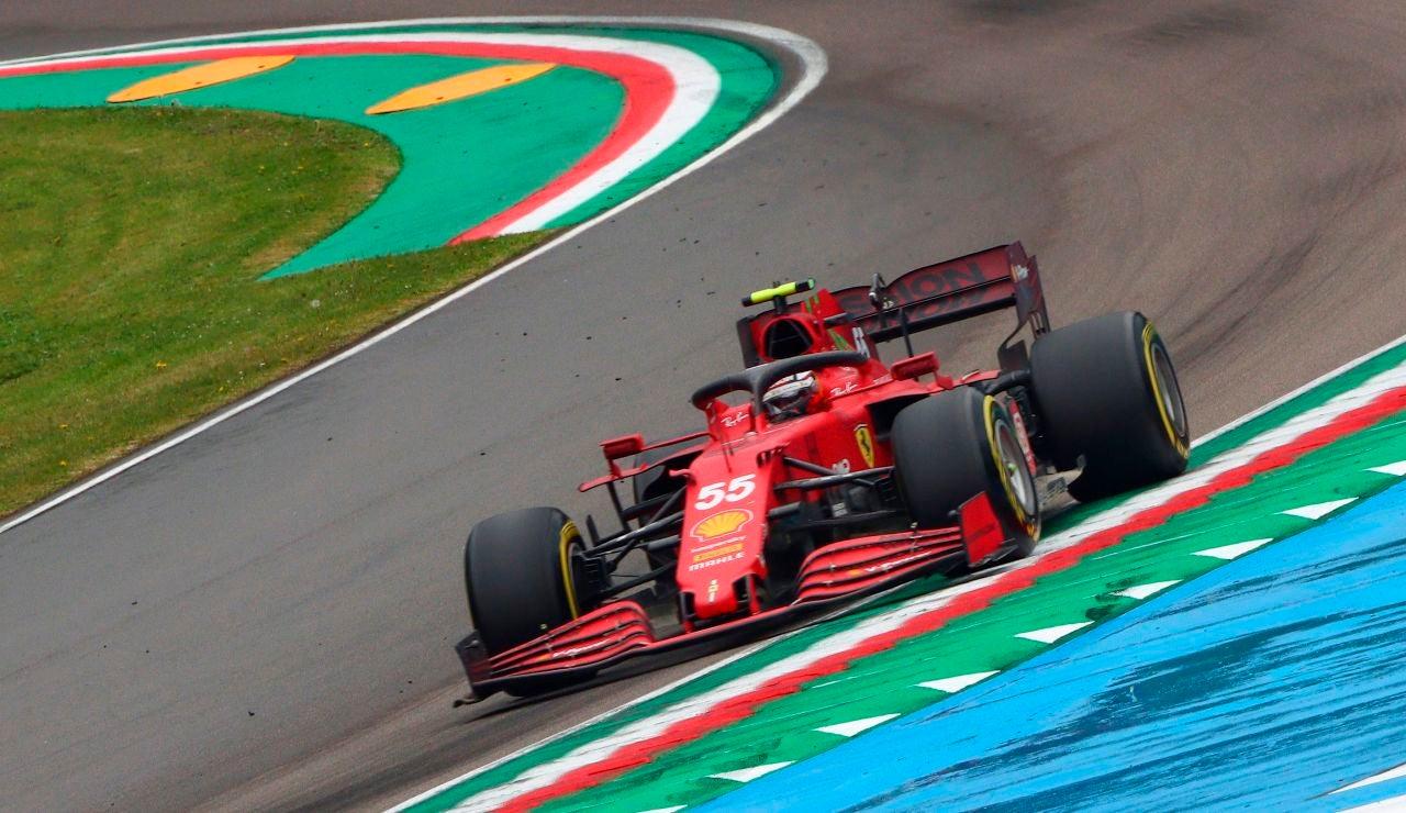 """Carlos Sainz, tras su quinto puesto en Imola: """"No vamos por el mal camino, eso es seguro"""""""