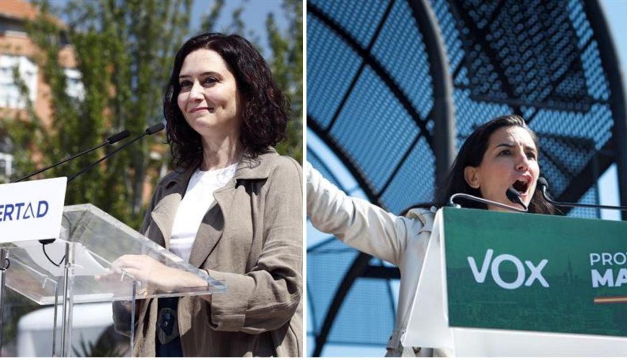Encuesta Elecciones Madrid 2021: Los sondeos dan amplia mayoría a la alianza Isabel Díaz Ayuso y Rocío Monasterio
