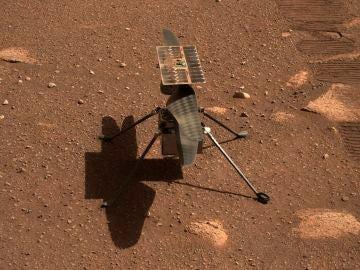 Cuenta atrás para el primer vuelo extraterrestre del 'Ingenuity' en Marte