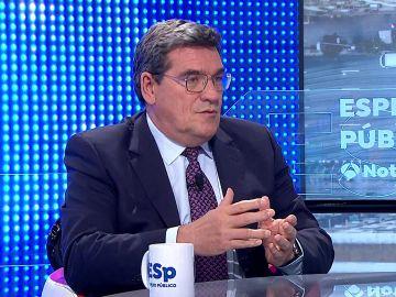 José Luis Escrivá anuncia un acuerdo para que las mutuas de las empresas puedan vacunar en el futuro