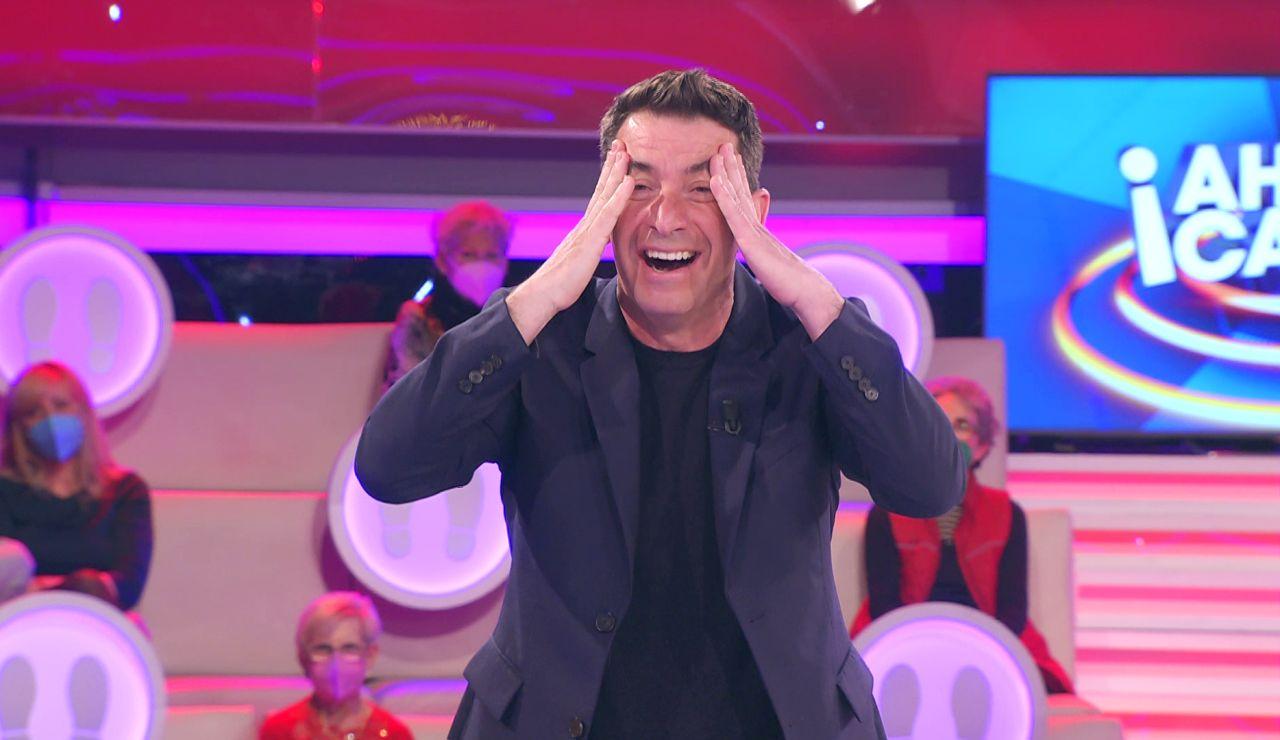 El chiste improvisado de Arturo Valls con un apellido en '¡Ahora caigo!'