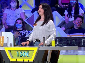 """El reproche de una concursante a Jorge Fernández en 'La ruleta de la suerte': """"Resuelvo que tú la lías"""""""