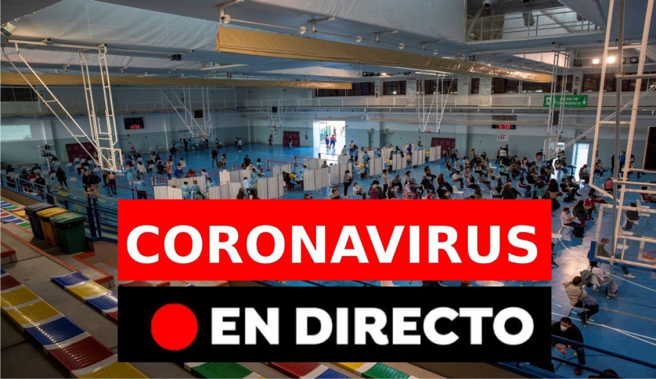 Coronavirus en España hoy: Restricciones, nuevas medidas y últimas noticias de la campaña de vacunación, en directo