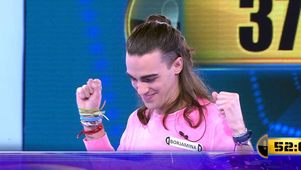 ¡Hoy era el día! Borja gana 37.000 euros en el Duelo Final de '¡Ahora caigo!'
