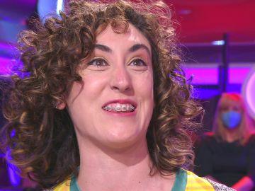 ¡Qué contagiosa! Arturo Valls flipa con la risa nerviosa de una concursante de '¡Ahora caigo!'