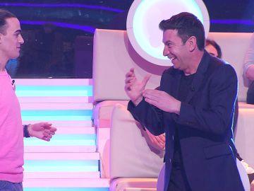 Arturo Valls planea una broma con Borja en '¡Ahora caigo!'… ¡pero no sale como esperaba!