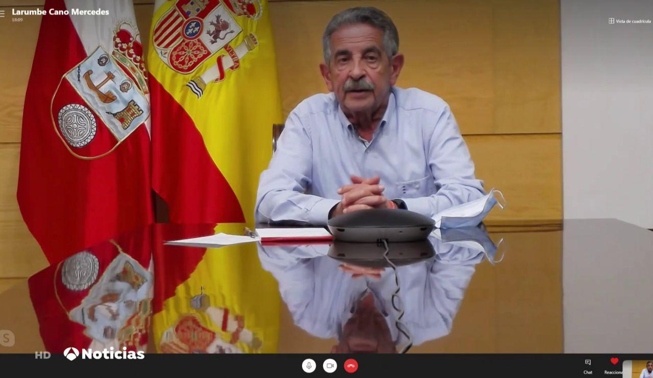 """Miguel Ángel Revilla, sobre el aumento de contagios de coronavirus en Cantabria: """"Hay que aguantar un mes"""""""