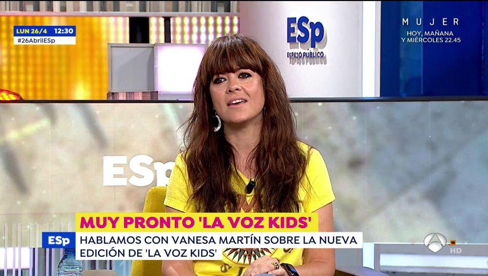 Vanesa Martin La Voz Kids