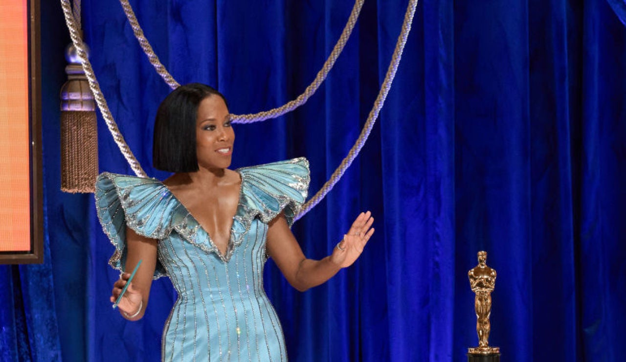 Regina King en los Oscar 2021