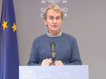 """Fernando Simón: """"La evolución de la pandemia no va a llevarnos a situaciones como las que vivimos en la segunda ola"""""""