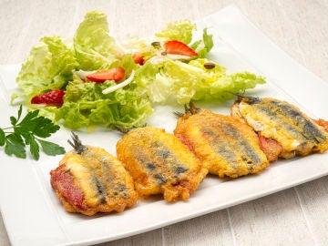 """El """"bocado impresionante"""" de Karlos Arguiñano: receta de anchoas rellenas de pimiento"""
