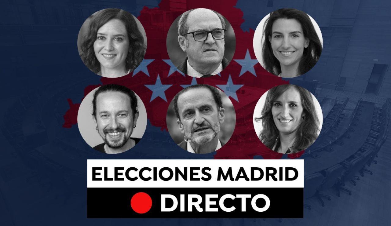 Elecciones Madrid 2021: Encuestas, candidatos y últimas noticias del 4M, en directo