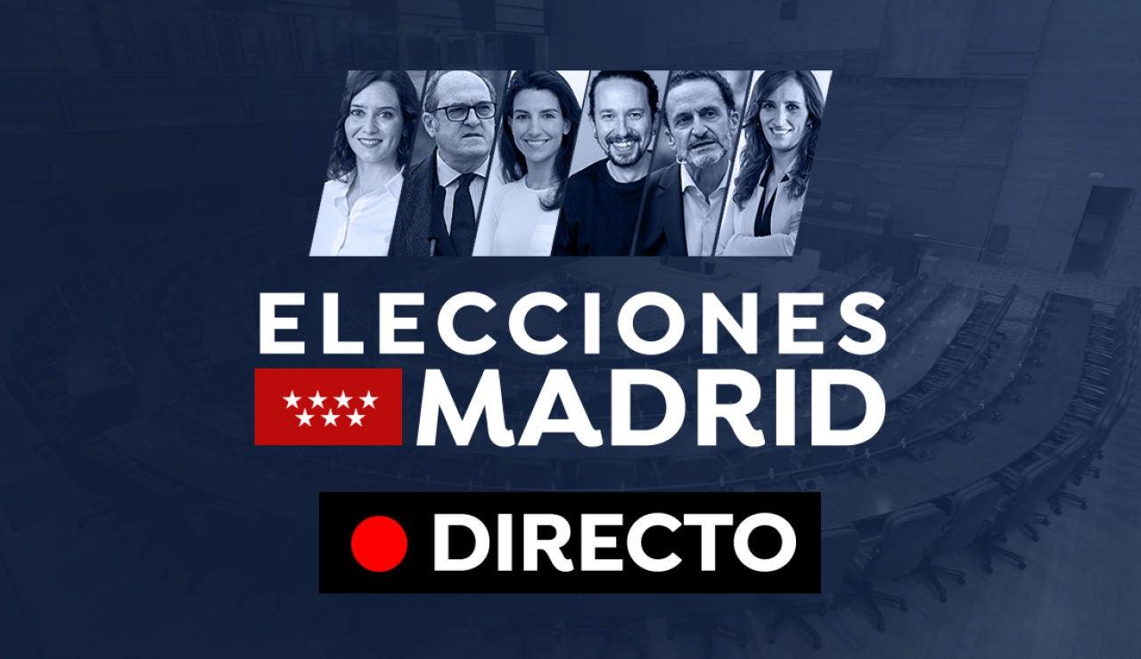 Elecciones Madrid 2021, en directo: Encuestas, partidos políticos y candidatos del 4M hoy