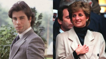 John Travolta y Lady Di