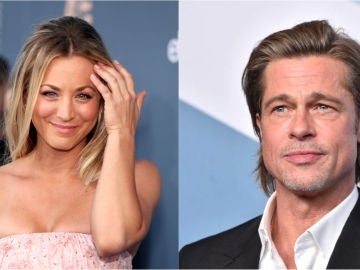 Brad Pitt y Kaley Cuoco