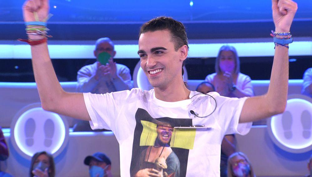 Borja, 'el imbatible': supera el récord de permanencia de Merche en '¡Ahora caigo!'