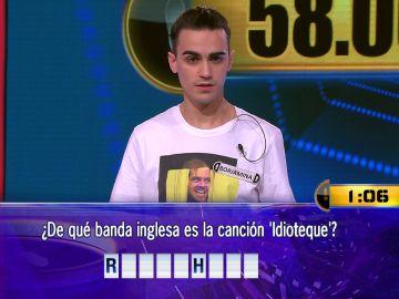 ¿Romperá su mala racha? Borja, a por 58.000 euros el Duelo Final de '¡Ahora caigo!'
