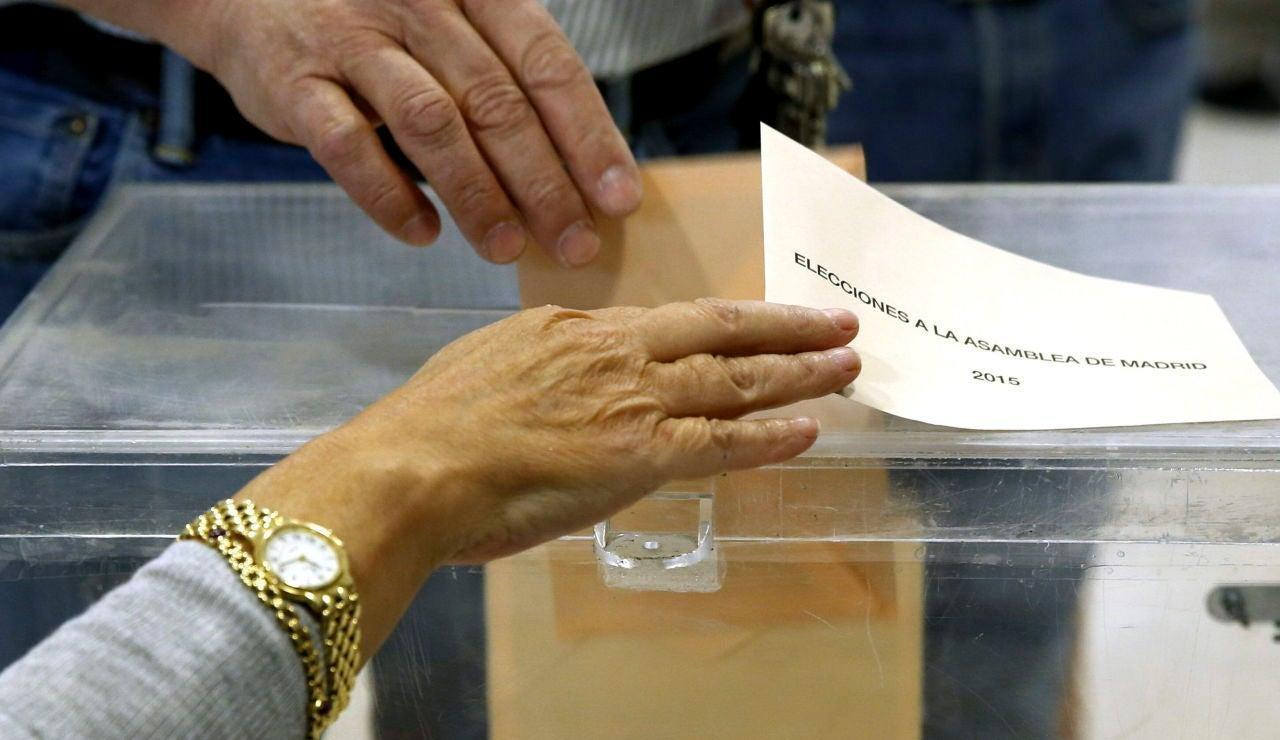 Votación elecciones Madrid