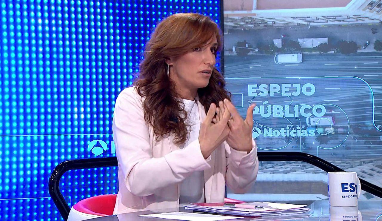 Mónica García en Espejo Público