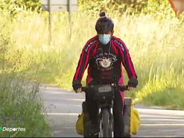 Recorrer los 7 Caminos de Santiago gallegos en bicicleta, el reto solidario de 'Pichi'
