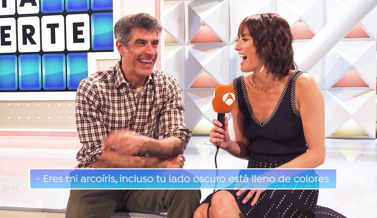 Una frase cursi, un titular loco y un panel con bote: las difíciles elecciones de Jorge Fernández y Laura Moure
