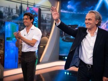 Disfruta de la entrevista completa de Mario Casas y José Coronado en 'El Hormiguero 3.0'