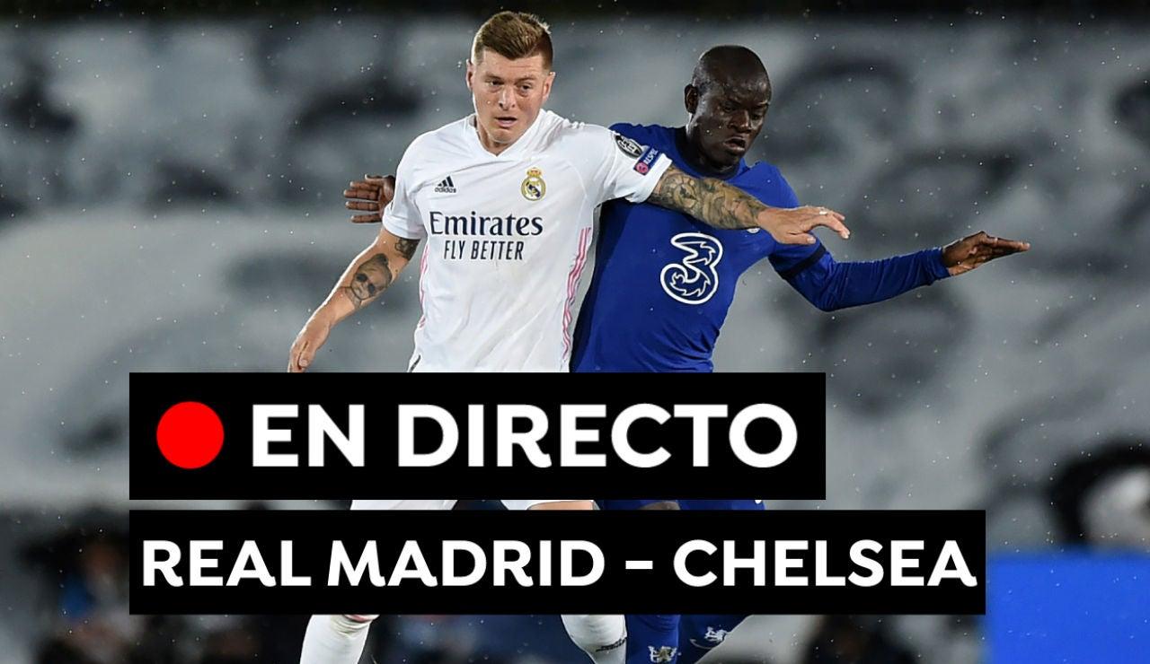 Real Madrid - Chelsea, en directo: Resultado y goles del partido de fútbol de hoy de Champions League