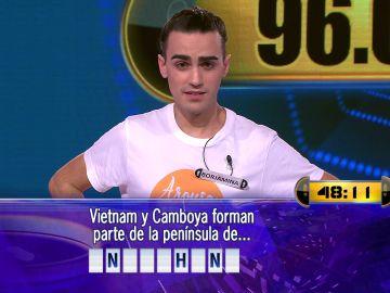 ¿Podrá superar a Merche? Borja juega por 96.000 euros el Duelo Final de '¡Ahora caigo!'