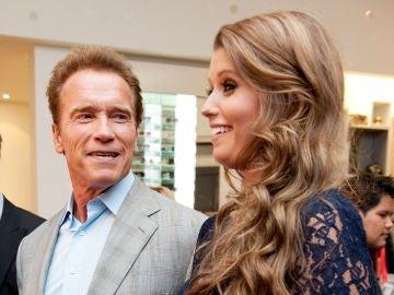 Arnold Schwarzenegger y su hija Katherine Schwarzenegger