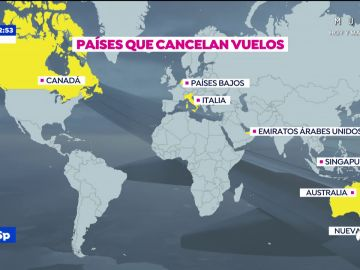 Varios países se blindan ante las llegadas de vuelos procedentes de la India