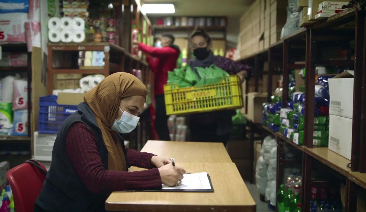 Fotograma del corto lanzado por Unidas Podemos escrito por Carlos Bardem